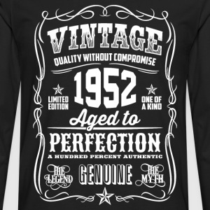 1952 Aged To Perfection pink Printed - Men's Premium Longsleeve Shirt