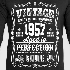 1957 Aged to Perfection White print - Men's Sweatshirt by Stanley & Stella