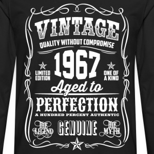 1967 Aged to Perfection White print - Men's Premium Longsleeve Shirt