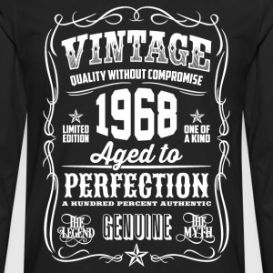 1968 Aged to Perfection White print - Men's Premium Longsleeve Shirt
