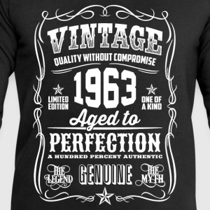 1963 Aged to Perfection White print - Men's Sweatshirt by Stanley & Stella