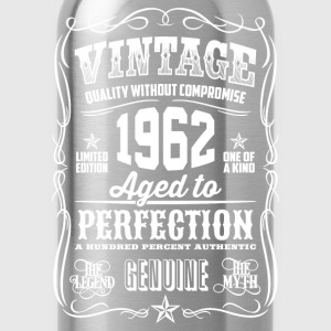 1962 Aged to Perfection White print - Water Bottle