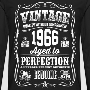 1966 Aged to Perfection White print - Men's Premium Longsleeve Shirt