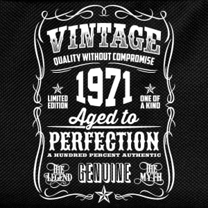 1971 Aged to Perfection White print - Kids' Backpack