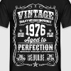 1976 Aged to Perfection White print - Men's T-Shirt