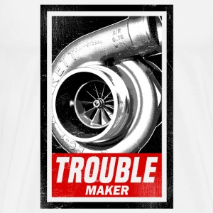 TROUBLE MAKER Mugs & Drinkware - Men's Premium T-Shirt