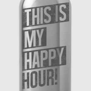 THIS IS MY HAPPY HOUR T-Shirts - Water Bottle