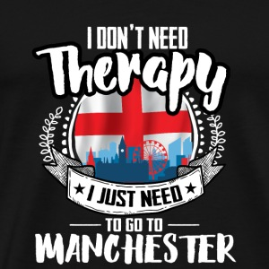 Therapy Manchester Mugs & Drinkware - Men's Premium T-Shirt