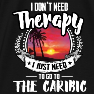 Therapy Caribic Bags & Backpacks - Men's Premium T-Shirt