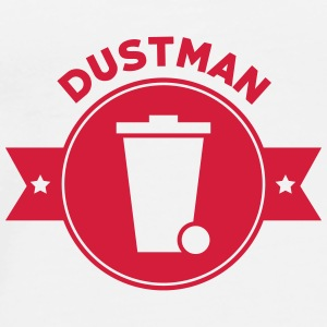 Dustman Ripper Müllmann Eboueur Garbage Trash Mugs & Drinkware - Men's Premium T-Shirt