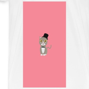 Gentleman cylinder cat - case Other - Men's Premium T-Shirt