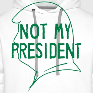 Fld.) United States of America: Not My President - Männer Premium Hoodie