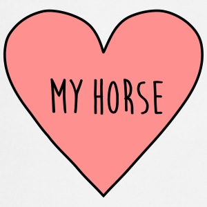 I love my horse, heart, horseman, pony, racing,   - Cooking Apron