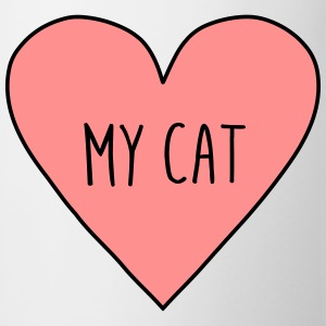 I love my cat, heart cats, pet, cute, funny, meow, - Mug