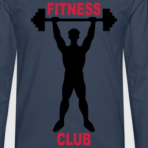 fitness club 02 Tee shirts - T-shirt manches longues Premium Homme
