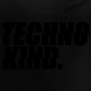 Techno Kind Rave Kultur Berlin Vinyl Progressive Pullover & Hoodies - Baby T-Shirt