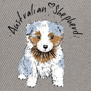Australian Shepherd, blue merle Bags & Backpacks - Snapback Cap