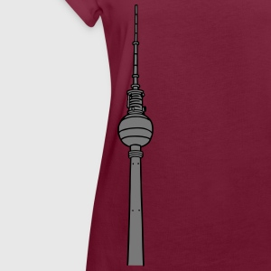 Berlin TV Tower 2  Aprons - Women's Oversize T-Shirt