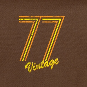 77 vintage T-Shirts - Shoulder Bag