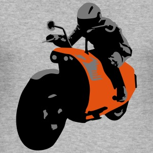 Bike, Motorbike Hoodies & Sweatshirts - Men's Slim Fit T-Shirt