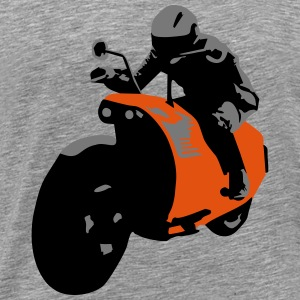Bike, Motorbike Manches longues - T-shirt Premium Homme