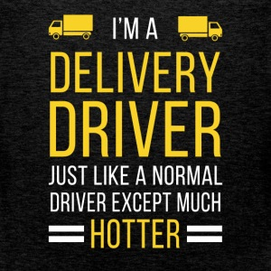 I'm a delivery driver just like a normal driver ex - Men's Premium Tank Top