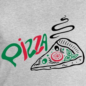 Italienische Pizza, italian food Tee shirts - Sweat-shirt Homme Stanley & Stella
