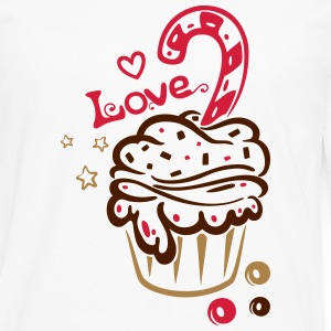 Muffin mit Zuckerstange, sweets Tee shirts - T-shirt manches longues Premium Homme