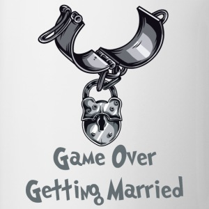 Game Over Getting Married - Mug