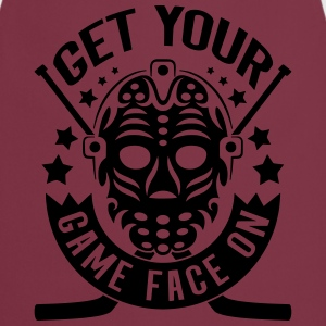 Get Your Game Face On (Ice Hockey) Hoodies & Sweatshirts - Cooking Apron