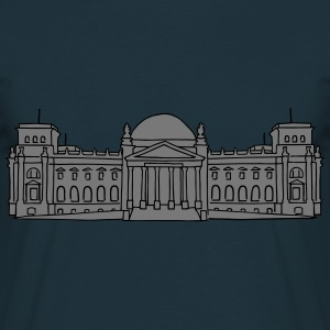 Reichstag building Berlin 2  Aprons - Men's T-Shirt