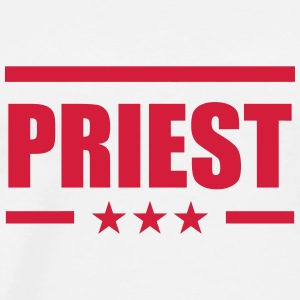 Priest Priester Prêtre Religion Cross Croix God Baby Bodysuits - Men's Premium T-Shirt