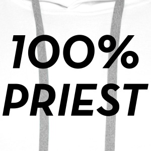 Priest Priester Prêtre Religion Cross Croix God Shirts - Men's Premium Hoodie