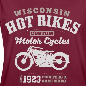 Wisconsin Hot Bikes Custom Motor Cycles Pullover & Hoodies - Frauen Oversize T-Shirt