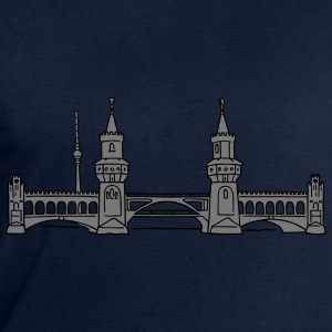 Oberbaum Bridge in Berlin 2 Long Sleeve Shirts - Men's Sweatshirt by Stanley & Stella