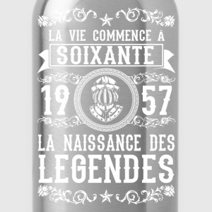 1957 - 60 ans - Légendes - 2017 Sweat-shirts - Gourde