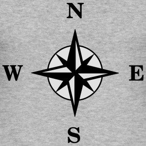Compass Hoodies & Sweatshirts - Men's Slim Fit T-Shirt