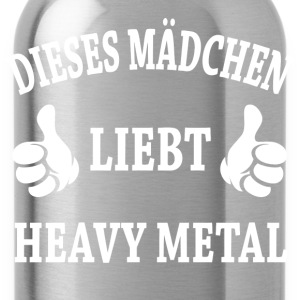 Heavy Metal T-Shirts - Trinkflasche
