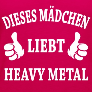 Heavy Metal T-Shirts - Frauen Premium Tank Top