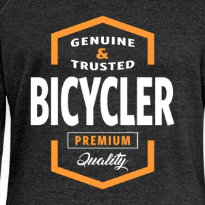 Bicycler Logo T-shirt - Women's Boat Neck Long Sleeve Top