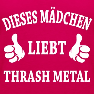 Thrash Metal T-Shirts - Frauen Premium Tank Top