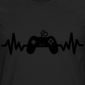 Gaming is life, geek, gamer , jeux vidéos  - T-shirt manches longues Premium Homme