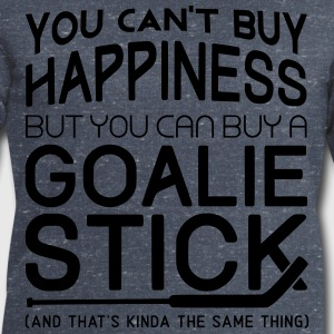 You Can't Buy Happiness (Ice Hockey Goalie) T-Shirts - Men's Sweatshirt by Stanley & Stella