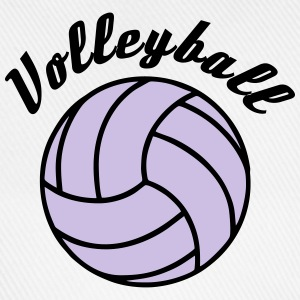 Volleyball Design Toppar - Basebollkeps