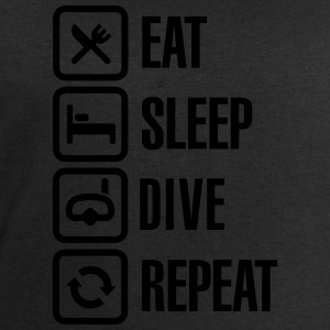 Eat Sleep Dive Repeat T-skjorter - Sweatshirts for menn fra Stanley & Stella