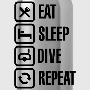 Eat Sleep Dive Repeat T-shirts - Drinkfles