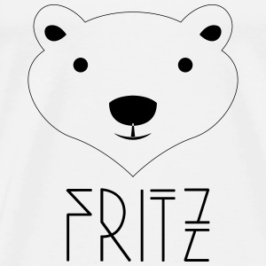 Eisbär Fritz Berlin Hoodies - Men's Premium T-Shirt