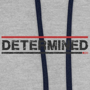 Determined - Sweat-shirt contraste