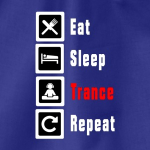 Eat Sleep Trance Repeat - Turnbeutel
