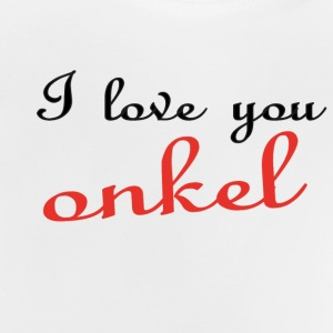 I love you onkel T-Shirts - Baby T-Shirt